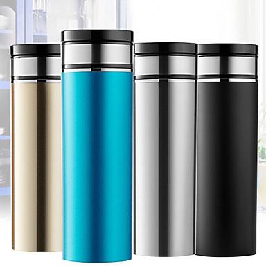 voordelige Automatisch Electronica-0,33l roestvrijstalen auto-vacuüm beker draagbaar / geluidsarm / aanraaktoets / afstandsbediening waterkoker