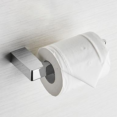 ที่แขวนกระดาษชำระ ดีไซน์มาใหม่ ทองเหลือง 1pc - ห้องน้ำ ติดผนัง