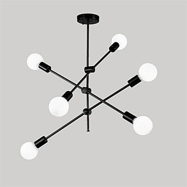 สไตล์นอร์ดิกโมเลกุลโคมระย้า 6-lights ห้องนั่งเล่นที่ทันสมัยห้องรับประทานอาหารห้องนอนไฟจี้