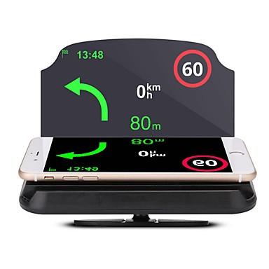 billige Bil Elektronikk-lt29 5,6 tommer annen cmos sensor trådløs 5,62 tommer head up display vanntett / sammenleggbar / ny design for bil / buss / lastebil gps navigasjon / måle kjørehastighet / kjørehastighet