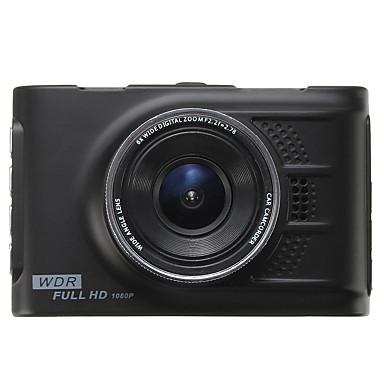voordelige Automatisch Electronica-1080p HD Auto DVR 120 graden Wijde hoek 3 inch(es) LED Dash Cam met GPS / Nacht Zicht / G-Sensor Autorecorder