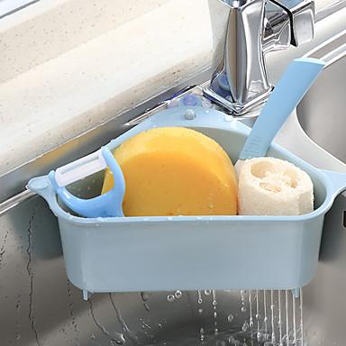 คุณภาพสูง กับ Plastics ราว & ที่จับ / Hanging Baskets ใช้เป็นประจำ / Kitchen ครัว การเก็บรักษา 1 pcs