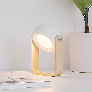 คืนแสงไฟ LED / แคมป์แสงฉุกเฉินกลางแจ้ง สามสี DC Powered Creative / 3 โหมด / หรี่แสงได้