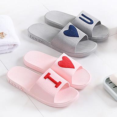 รองเท้าแตะสตรี / รองเท้าแตะเด็กผู้หญิง บ้านรองเท้าแตะ พิมพ์ 3D / ไม่เป็นทางการ พีวีซี / Plastic รองเท้า