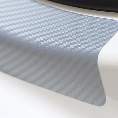 preiswerte Automobil-Universal 4pcs 60cm x 6.7cm Schwellerabnutzungs-Antikratzer-Kohlenstofffaserautotüraufkleber-Autozusatzanreden