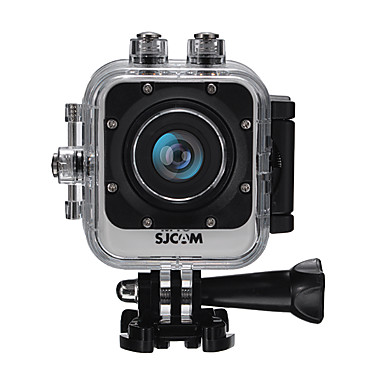 billige Bil-DVR-SJCAM M10 + WIFI 720p / 1080p HD / Trådløs Bil DVR 170 grader Bred vinkel 12 MP CMOS 1.5 tommers LCD Dash Cam med Bevegelsessensor Bilopptaker