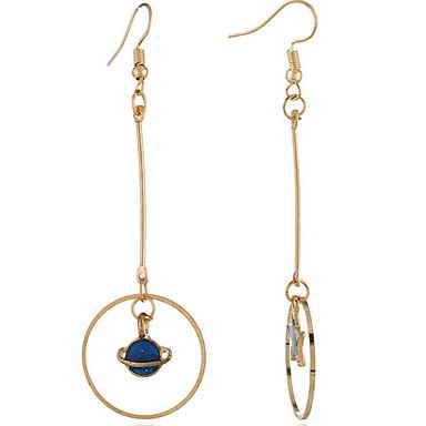 สำหรับผู้หญิง สีทอง ต่างหู แฟชั่น ต่างหู เครื่องประดับ สีทอง สำหรับ ทุกวัน 3 คู่