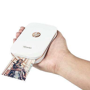 cheap Office & School-JEPOD Jepod HP sprocket USB Wired Bluetooth Wireless Home Photo Zero Ink Printer 203 DPI
