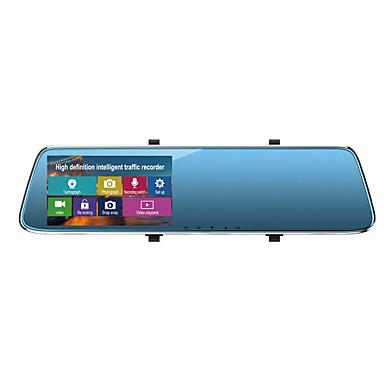 billige Bil Elektronikk-1080p Bil DVR Bred vinkel 4.3 tommers LTPS Dash Cam med Loop-opptak / Innebygd Mikrofon / Loop-cycle Recording Bilopptaker