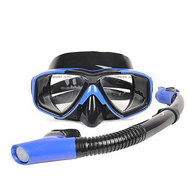 แพคเกจดำน้ำ - หน้ากากดำน้ำ แว่นตาดำน้ำ - ใต้น้ำ 180 Degree ป้องกันหมอกควัน การดำน้ำ กีฬาทางน้ำ ซิลิโคน  สำหรับ ผู้ใหญ่