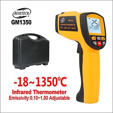 levne Testovací, měřící a kontrolní vybavení-BENETECH GM1350 Infračervený teploměr -18-1350℃ Pohodlné / Měření / pro