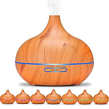 Aroma Diffuser Aromatherapy machine PP ไม้