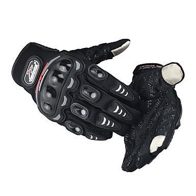 povoljno Motori i quadovi-Madbike Cijeli prst Muškarci Moto rukavice najlon PVA Touch Screen / Otporno na nošenje / Otpornost na udarce