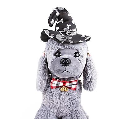 สุนัข เครื่องประดับ เครื่องประดับผม สุนัขและแมว ตกแต่ง คอสเพลย์ สีพื้น คาร์แรคเตอร์ คริสมาสต์ วัสดุอื่น ๆ สีดำ สีเหลือง สีเขียว