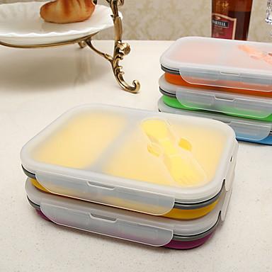1-ชิ้น กล่องข้าว อาหารเย็น ซิลิโคน ดีไซน์มาใหม่ Creative