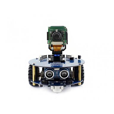 voordelige Elektrische apparatuur & benodigdheden-waveshare alphabot2-pizero wh (en) alphabot2 robotbouwset voor raspberry pi zero wh (ingebouwde wifi voorgesoldeerde headers)