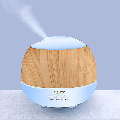 Aroma Diffuser Aromatherapy machine PP ไม้