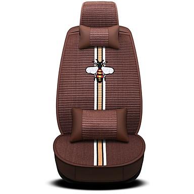 voordelige Auto-interieur accessoires-Auto-stoelhoezen Hoofdsteun en taille kussensets Paars / Koffie / Roze Sieni / Polyesteri / Niet geweven Cartoon Voor Universeel / GM