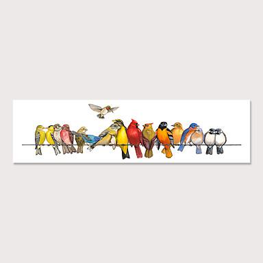 cheap Oversized Painting-Print Rolled Canvas Prints - Animals Birds Modern Art Prints