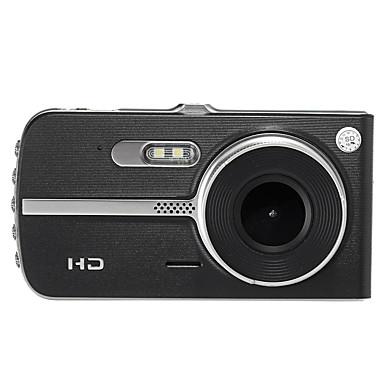 levne Auto Elektronika-A23 HD / Noční vidění / s zadní kamerou Auto DVR 140 stupňů Široký úhel 4 inch IPS Dash Cam s Noční vidění / G-Sensor / automatické zapnutí / vypnutí Záznamník vozu