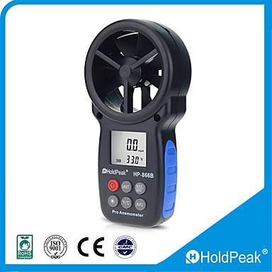levne Testovací, měřící a kontrolní vybavení-holdpeak hp-866b anemometr 0,3 ~ 30m / s vhodný / měření / pro