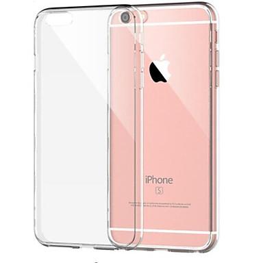 povoljno iPhone maske-Θήκη Za Apple iPhone 8 Plus / iPhone 8 / iPhone 7 Plus Otporno na trešnju / Prozirno Stražnja maska Jednobojni Mekano TPU