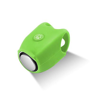 billige Sykkeltilbehør-WEST BIKING® Sykkelklokke Vanntett Anvendelig Oppladbar Holdbar Til Vei Sykkel Fjellsykkel Sykling silica Gel Grønn Blå Lilla