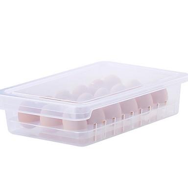 คุณภาพสูง กับ Plastics กล่องเก็บรักษา ใช้เป็นประจำ ครัว การเก็บรักษา 1 pcs