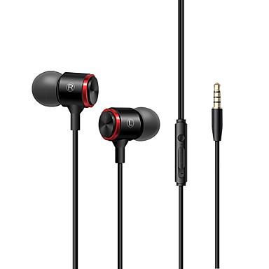 LITBest ในหู สาย หูฟัง หูฟัง อะลูมิเนียมอัลลอย / สายไฟ โทรศัพท์มือถือ หูฟัง ชุดหูฟัง