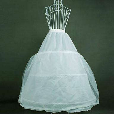 เจ้าสาว โลลิต้าแบบคลาสสิก 1950s หนึ่งชิ้น ชุดเดรส Petticoat กระโปรงผายก้น สำหรับผู้หญิง เด็กผู้หญิง ตูเล่ ฝ้าย เครื่องแต่งกาย ขาว Vintage คอสเพลย์ ปาร์ตี้ Performance เจ้าหญิง