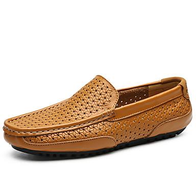 men's leather shoes cowhide spring / spring  summer