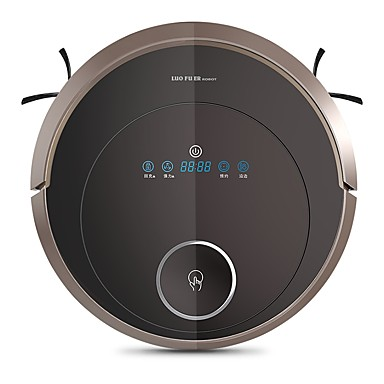 preiswerte Vakuum-LUOFUER Roboter-Staubsauger Reiniger S803 Selbstaufladung Vermeidet ein Runterfallen APP-Steuerung Wifi Fernsteuerung Automatische Reinigung Spot Reinigung Planen Sie die Reinigung