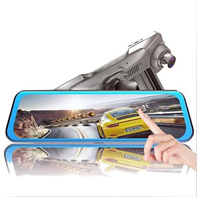 abordables DVR de Voiture-1080p Vision nocturne DVR de voiture 170 Degrés Grand angle 9.7 pouce IPS Dash Cam avec Vision nocturne Enregistreur de voiture