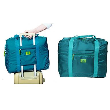 กันน้ำ ผ้าออกซ์ฟอร์ด ซิป กระเป๋าถือ สีทึบ กลางแจ้ง น้ำเงินเข้ม / สีบานเย็น / น้ำเงินท้องฟ้า / ทุกเพศ / ฤดูใบไม้ร่วง & ฤดูหนาว