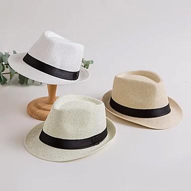 แพรต่วน / Faux Linen / ผ้าลินิน / ผ้าฝ้ายผสม หมวก / ฮารด์แวร์ / เครื่องประดับศรีษะ กับ ผูกริบบิ้น / กระโปรงระบาย / ไม่มีลาย 1 ชิ้น งานแต่งงาน / สวมใส่ทุกวัน หูฟัง