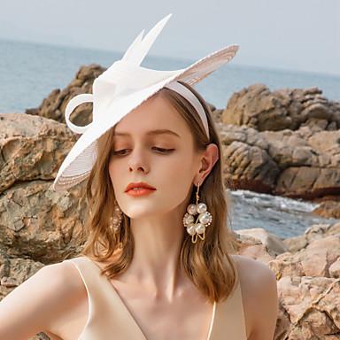 povoljno Party pokrivala za glavu-Poliester Trake za kosu s Perje 1pc Vjenčanje / Zabava / večer Glava