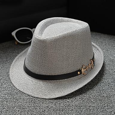 ผ้าลินิน / ผ้าฝ้ายผสม หมวก / เครื่องประดับศรีษะ กับ ไม่มีลาย 1 ชิ้น สวมใส่ทุกวัน / กลางแจ้ง หูฟัง
