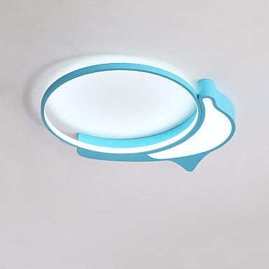 โคมไฟเพดานอบอุ่นปลาโลมาน่ารักสำหรับห้องเด็ก / ห้องนอน
