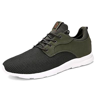 สำหรับผู้ชาย รองเท้าสบาย ๆ Tissage Volant ฤดูใบไม้ผลิ รองเท้ากีฬา สำหรับวิ่ง สีดำ / อาร์มี่ กรีน / ฟ้า
