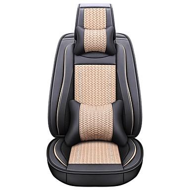 levne Doplňky do interiéru-obchodní přední sedadla univerzální autosedačky kryt hlavy a pasu polštáře sady luxusních vozidel příslušenství pro univerzální / polyester / koženka / bavlny podnikání \ t