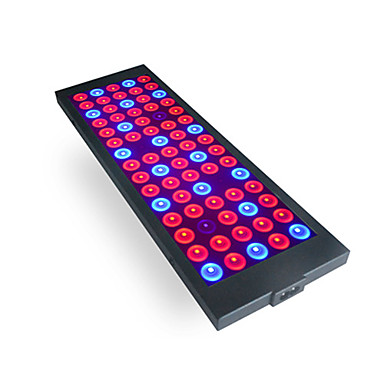 1set 40 W 800 lm 75 ลูกปัด LED Full Spectrum ติดตั้งง่าย สำหรับ Hydroponic เรือนกระจก โคมไฟที่กำลังเติบโต 85-265 V บ้าน / สำนักงาน เรือนกระจกผัก