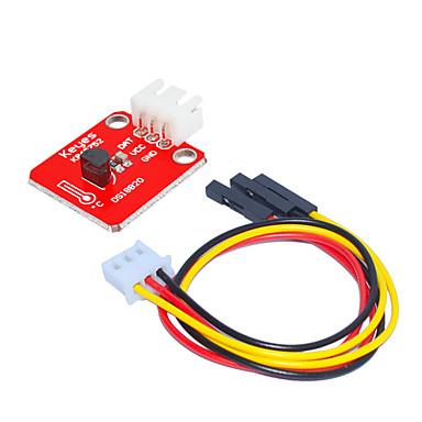 preiswerte Handys & Elektronik-ds18b20 temperaturklemme (rot) weiß mit 3-poliger dupontleitung