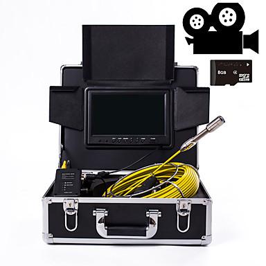 levne Mikroskopy a endoskopy-23 mm objektiv průmyslový endoskop 30m pracovní délka 9-palcový displej s funkcí kamery opravy auto opravy potrubí opravy