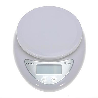 5kg/1g จอแสดงผล เครื่องชั่งครัวอิเล็กทรอนิกส์ ห้องครัวทุกวัน