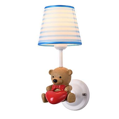 preiswerte Kinderzimmer-JSGYlights Ministil / bezaubernd Einfach / Moderne zeitgenössische Wandlampen Schlafzimmer / Kinderzimmer Harz Wandleuchte 110-120V / 220-240V 60 W