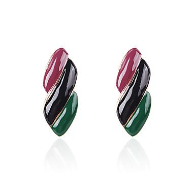 สำหรับผู้หญิง Drop Earrings ต่างหู ต่างหูห้อย Tropical ล้ำค่า Stylish ธรรมชาติ Tropical เกาหลี โบโฮ ต่างหู เครื่องประดับ สายรุ้ง สำหรับ ของขวัญ ทุกวัน Street ฮอลิเดย์ เทศกาล 1 คู่