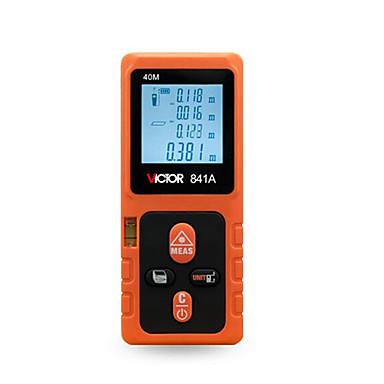 levne Testovací, měřící a kontrolní vybavení-victor vc841a 40m laserový metr automatický vypínač / ruční / podsvícený displej pro technické měření / pro pozemní stavby / pro venkovní měření