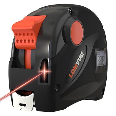 levne Vodováhy-lomvum dobíjecí usb nabíjení páska opatření 40m lcd digitální displej laserový dálkoměr 5m digitální páska