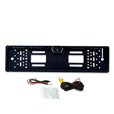 levne Auto Elektronika-BYNCG rear view camera 480TVL 480 TV-Lines 1/4 palce CMOS OV7950 Kabel 90 stupňů 3.5-12 inch Kamera pro zpětný pohled LED indikátor pro Auto