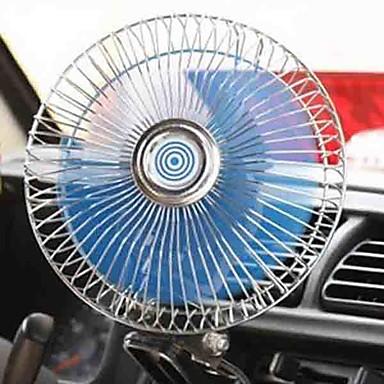 levne Auto Elektronika-6 palců auto ventilátor nastavitelná rychlost otáčení velké množství větru nízkošumový ventilátor 12 / 24v